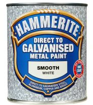 Hammerite Direct To Galvanised Metal Paint 750ml - White
